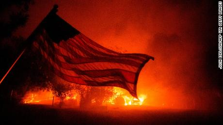 Hurricanes, fires, floods and locusts: Science says climate change is here but the RNC refuses to believe