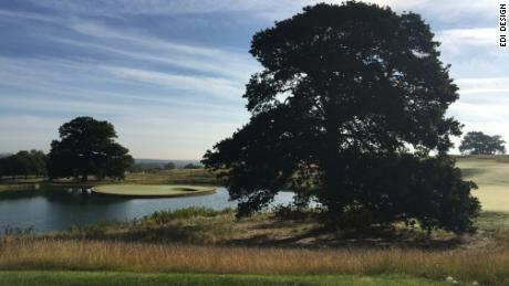 A general view of the Cumberwell Park course.