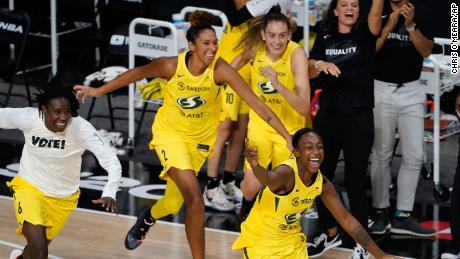 Seattle Storm win 4th WNBA championship