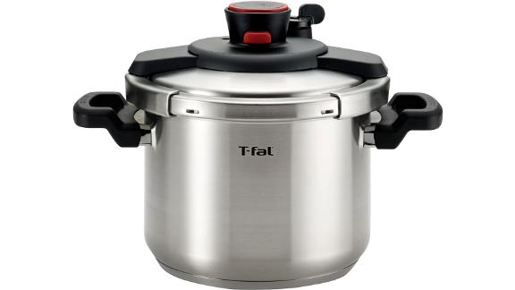 T-fal P45007 Clipso Stainless Steel Pressure Cooker