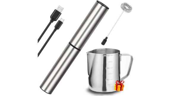 Basecent Electric Milk and Coffee Frother