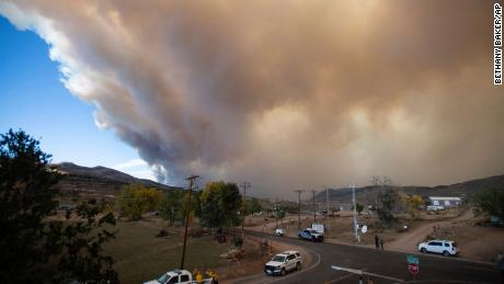 The Cameron Peak Fire in Colorado is the largest in the state's history