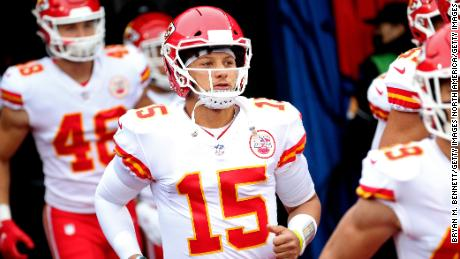 Patrick Mahomes of the Kansas City Chiefs broke another NFL record.