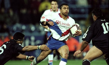 Jason Robinson represented Great Britain in rugby league and was the first black player to captain England's rugby union side.