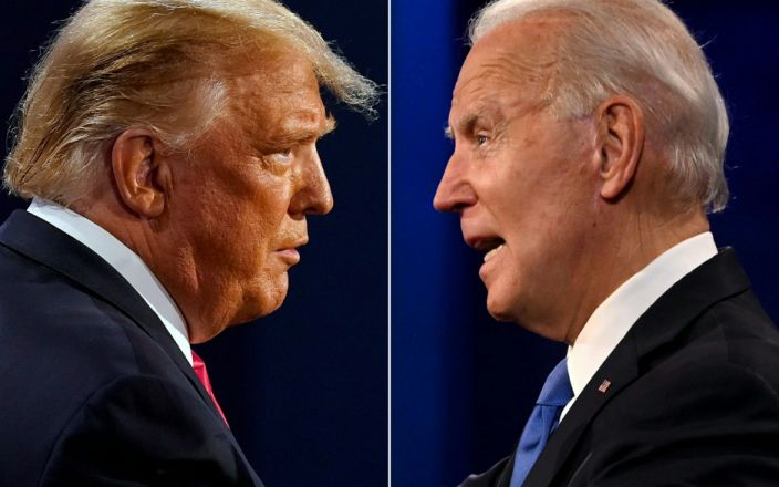 Trump Biden - AFP