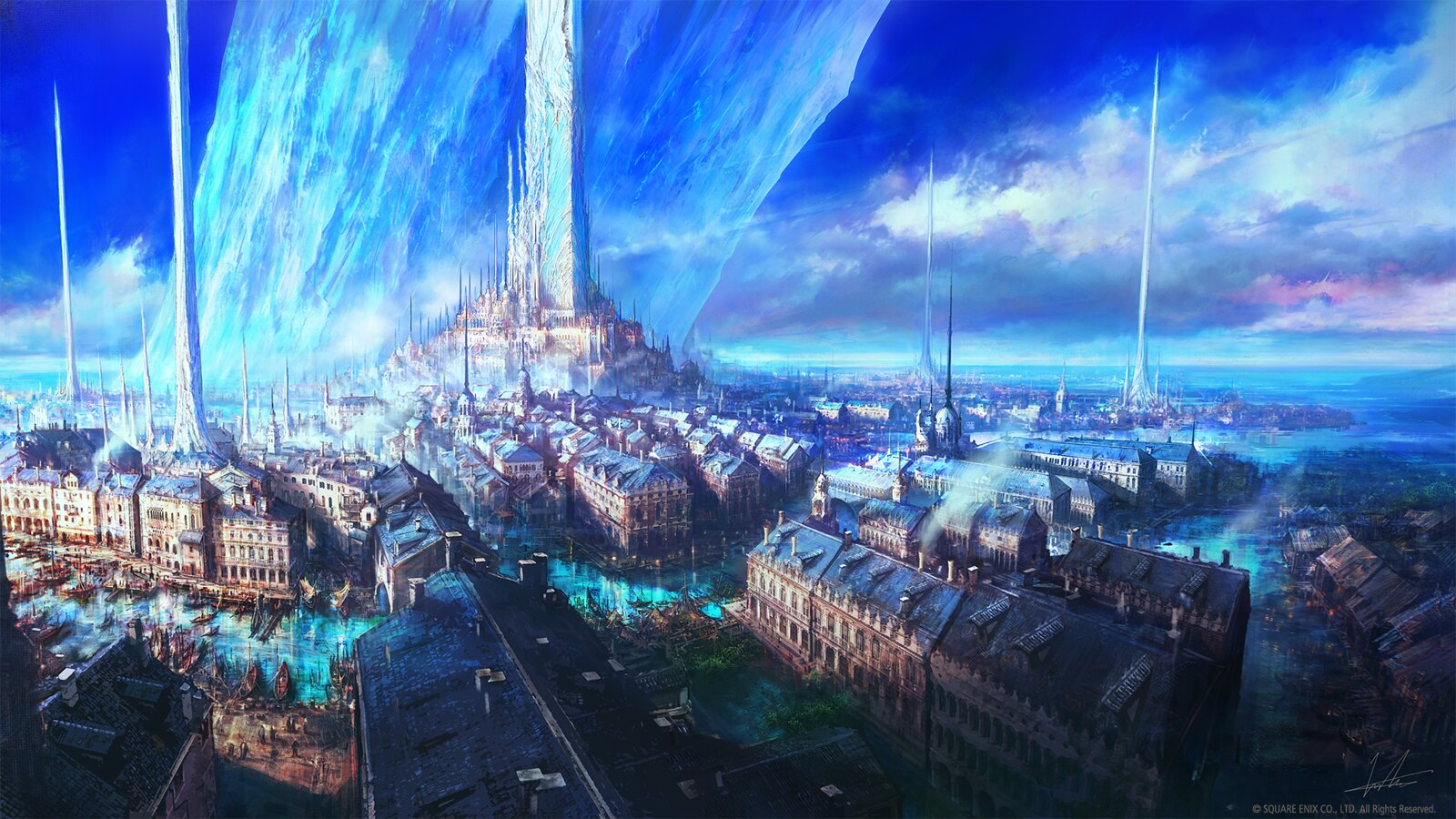 Final Fantasy XVI - world art