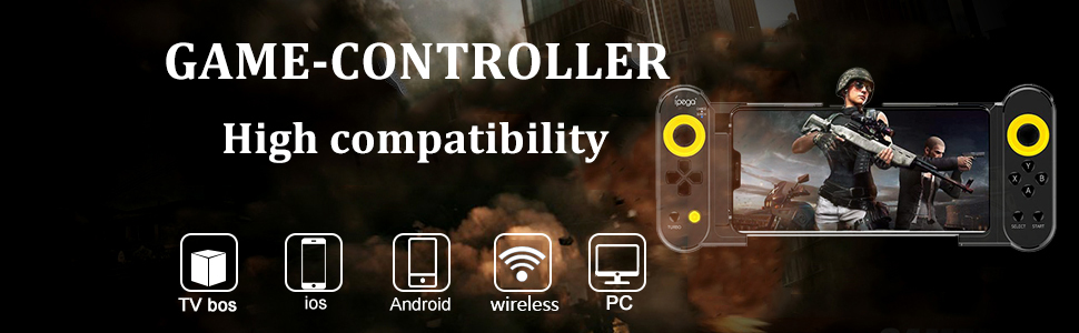 gaming controller for phone, game controller for android, iphone game controller, gaming tablet