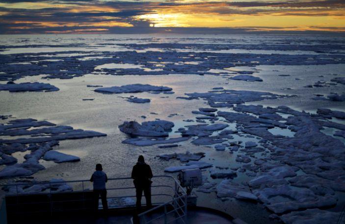 ice melt canada arctic