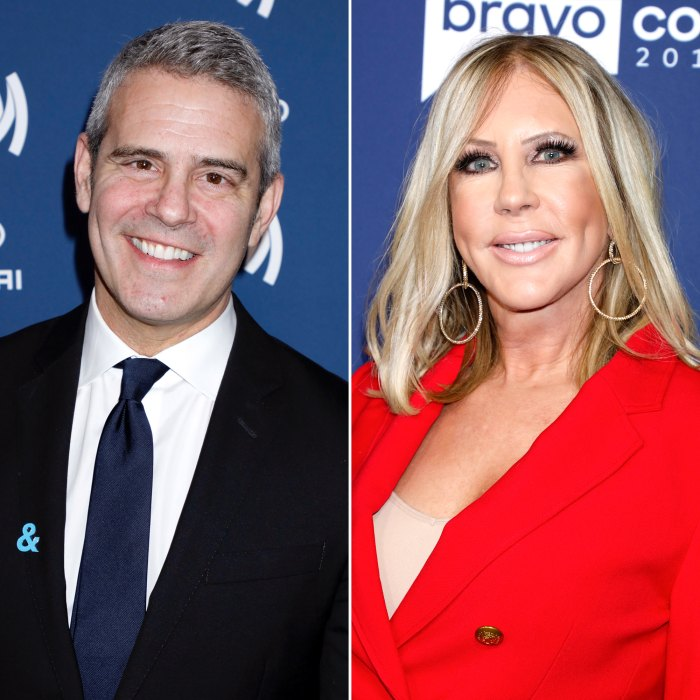 Andy Cohen Sends Vicki Gunvalson Flowers Ahead of 'RHOC' Season 15 Premiere
