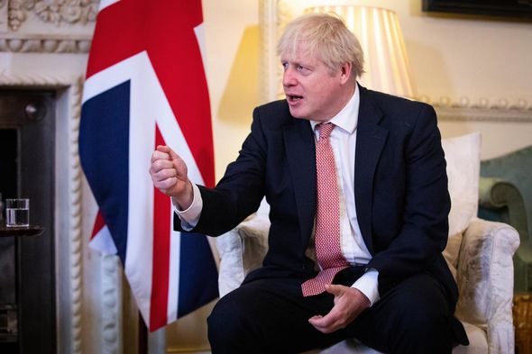 Boris Johnson: The PM has been accused of Northern mayors of failing to communicate restrictions