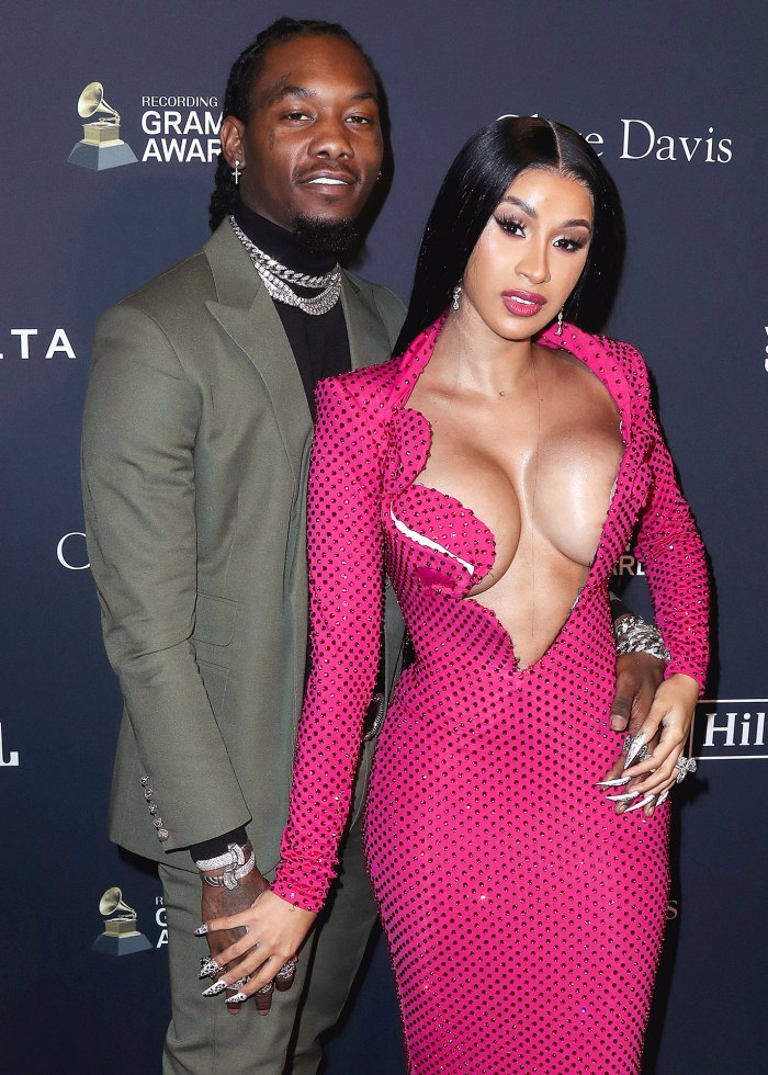 Cardi B and Offset Spotted Kissing at Birthday Party 1 Month After Split