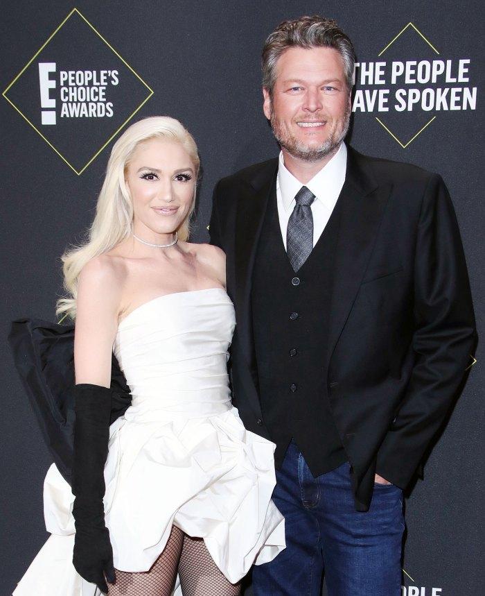 Gwen Stefani Talks About People Calling Blake Shelton Her Husband