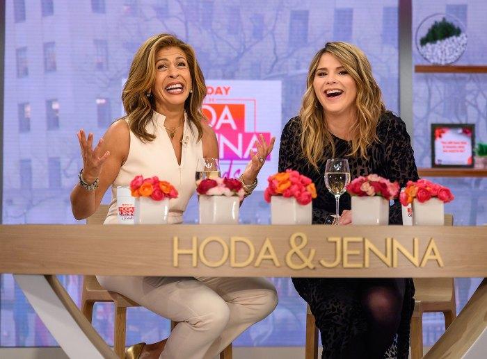 Hoda Kotb on Today with Jenna