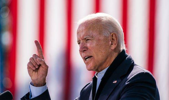 Joe Biden is currently favourite to win on November 5