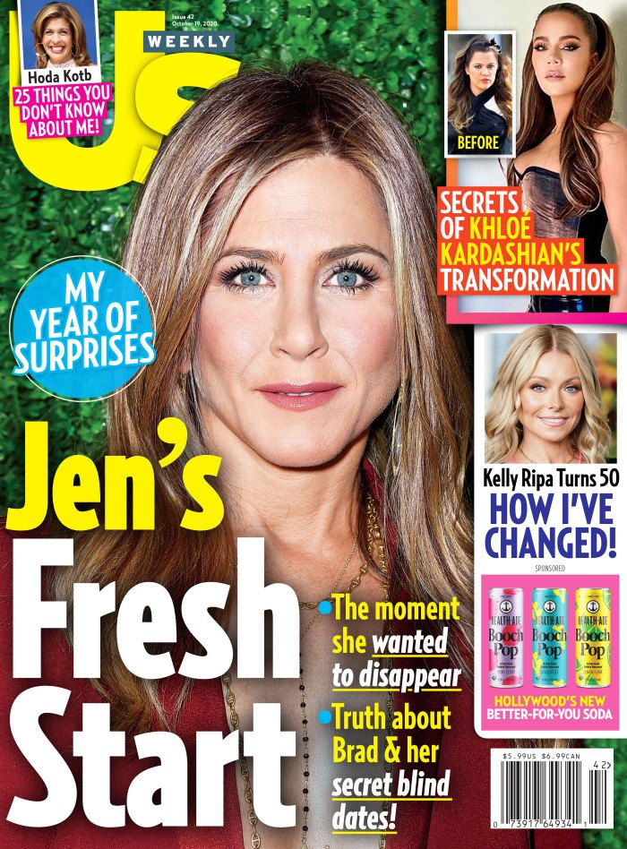 Justin Bieber Hailey Baldwin Have Grown Even Closer Amid Quarantine Us Weekly Issue 4220 Cover Jennifer Aniston