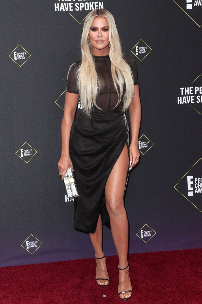 Khloe Kardashian Says Negative Comments About Her Looks Dont Affect Her Wearing Laquan Smith