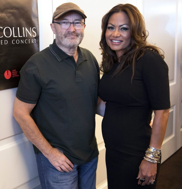 Phil Collins Splits From Third Ex-Wife Orianne Cevey for the 2nd Time, Evicting Her From Her Florida Home