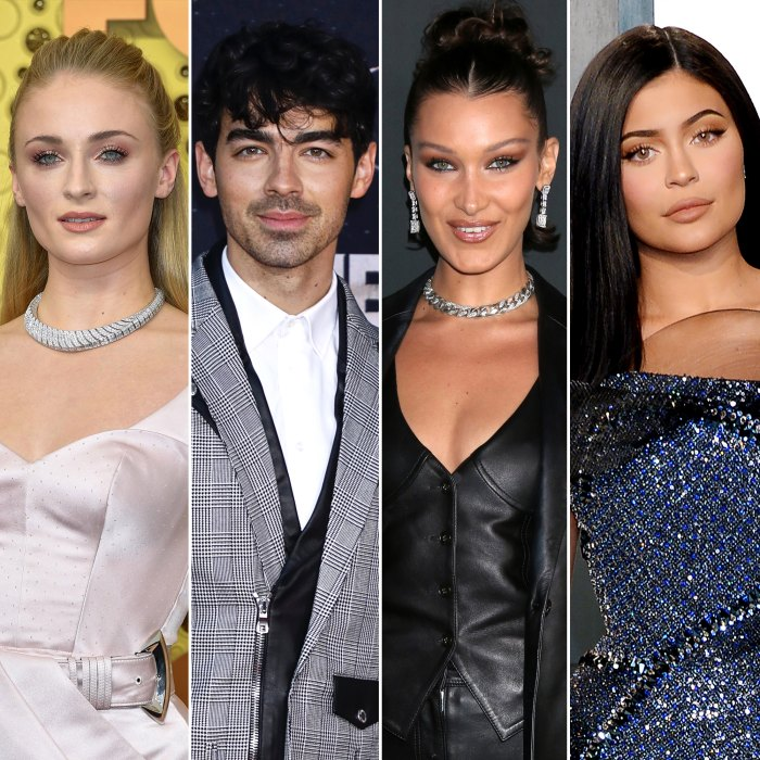 Sophie Turner, Joe Jonas and Bella Hadid Recreate Kylie Jenner's 'KUWTK' Scene in Hilarious TikToks