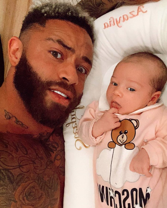 The Challenge's Ashley Cain Reveals His 2-Month-Old Daughter Has Leukemia