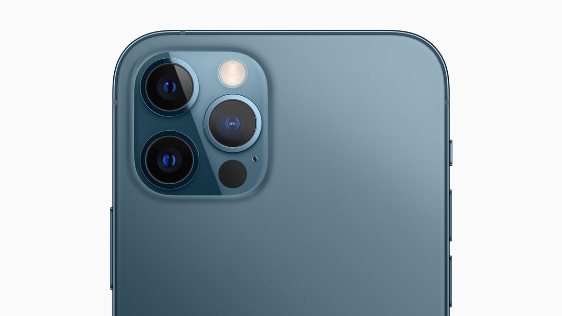 Apple iPhone12 Pro rear cameras