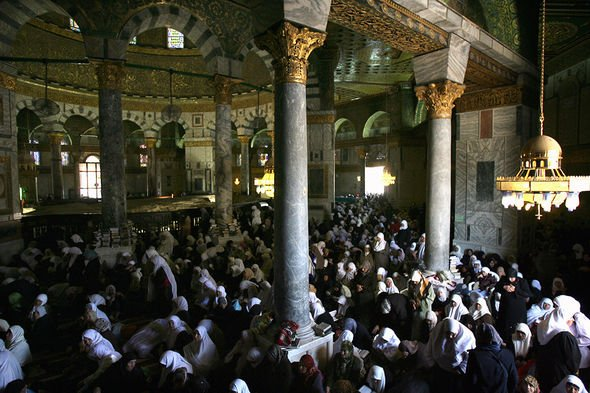 Archaeology news: Muslims in the Dome of the Rock