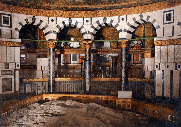 Archaeology news: Inside the Holy of Holies