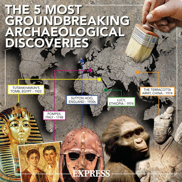 Archaeology news: 5 greatest discoveries mapepd