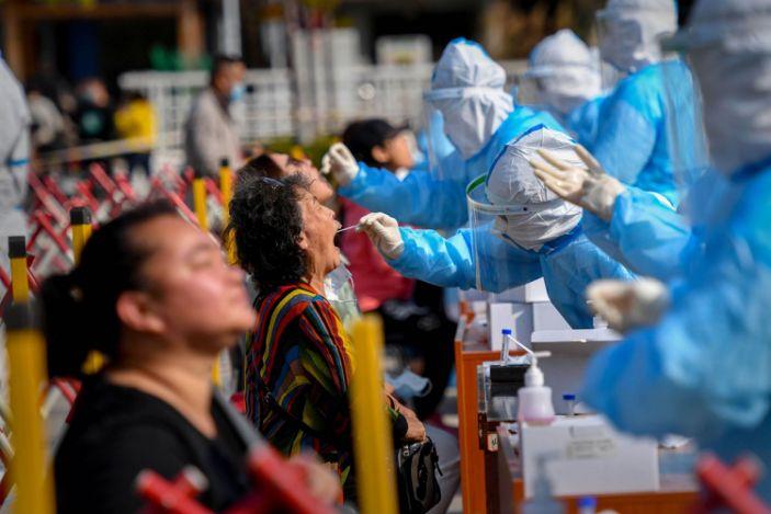 China Coronavirus test
