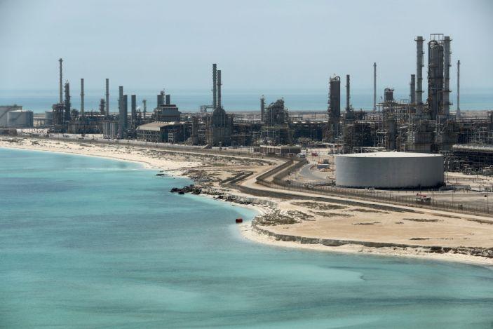"""Saudi Aramco's Ras Tanura oil refinery. <span class=""""copyright"""">Ahmed Jadallah/Reuters</span>"""