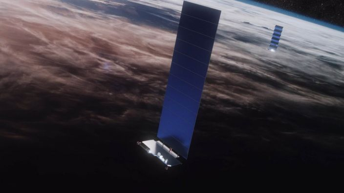 Artwork: SpaceX has promised to work with astronomers to eliminate any impacts