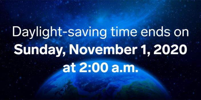 Daylight Saving Time_Nov 2020 03