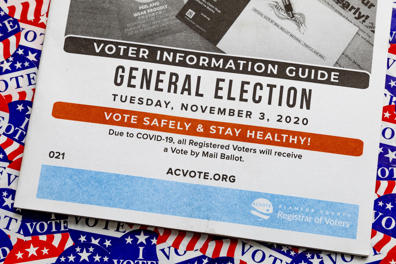 Election voter information guide