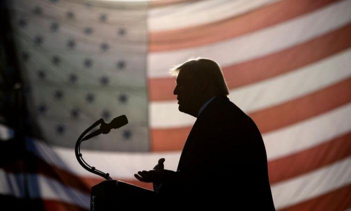 <span>Photograph: Brendan Smialowski/AFP/Getty Images</span>